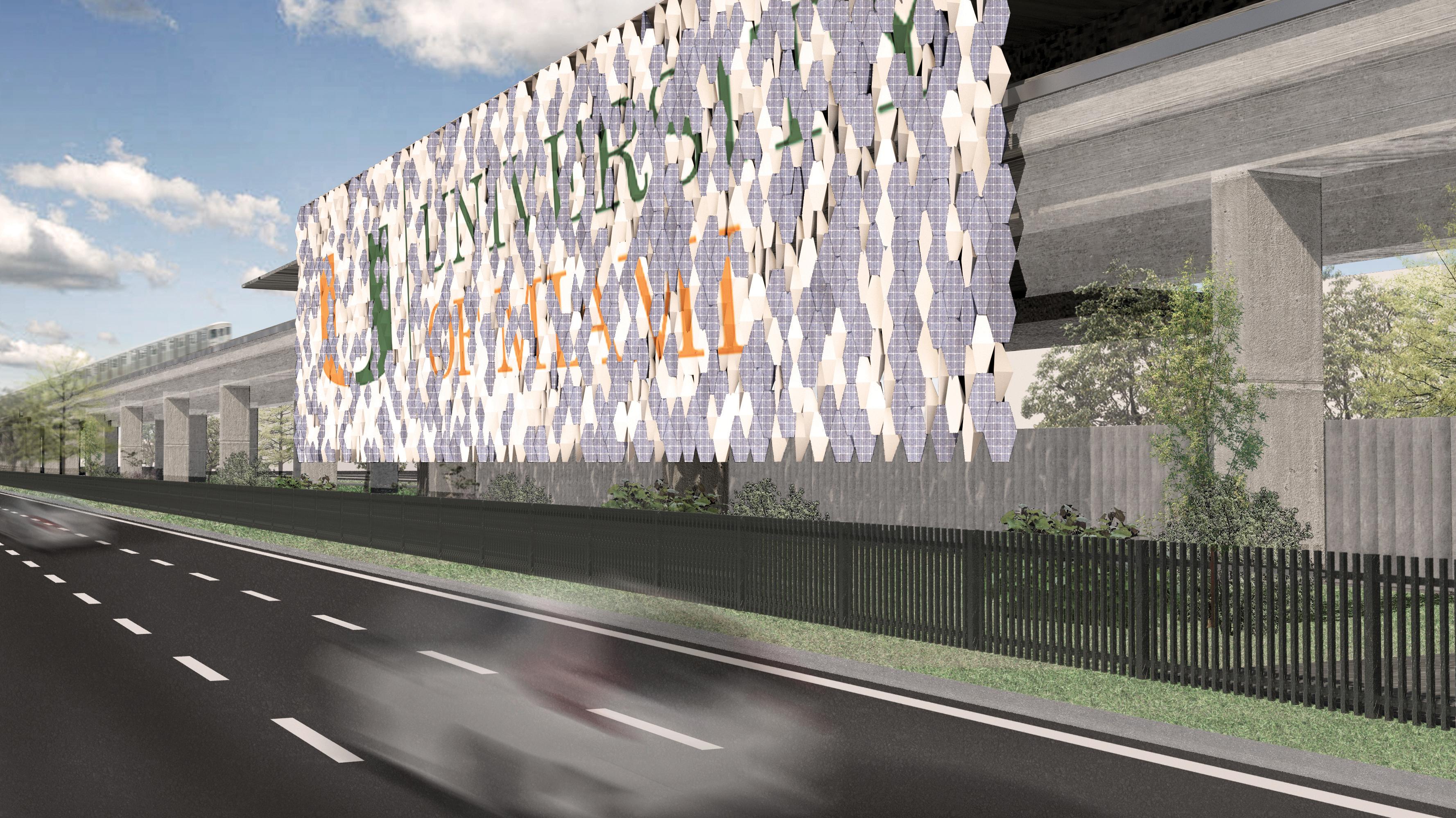University of Miami School of Architecture RAD-Lab UM render Metrorail